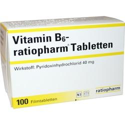 VITAMIN B6 RATIO 40MG FTA