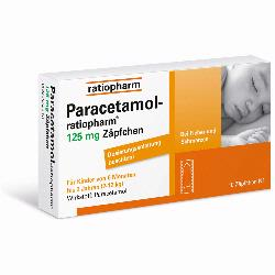 PARACETAMOL RATIO125MG SUP